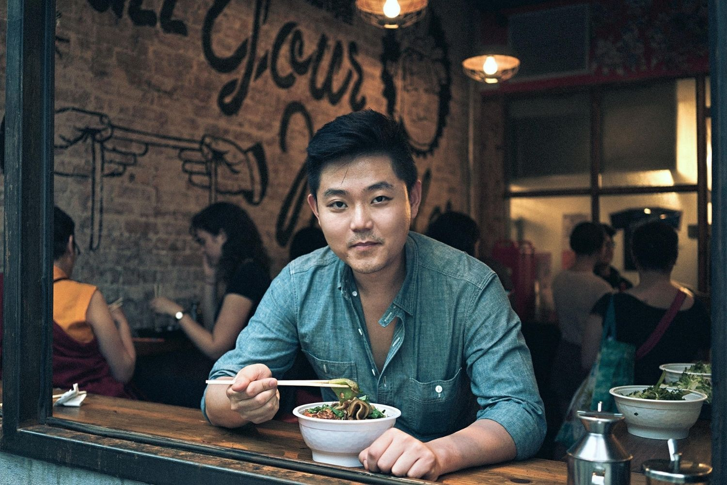 Chef Andrew Din from The Handpulled Noodle NYC