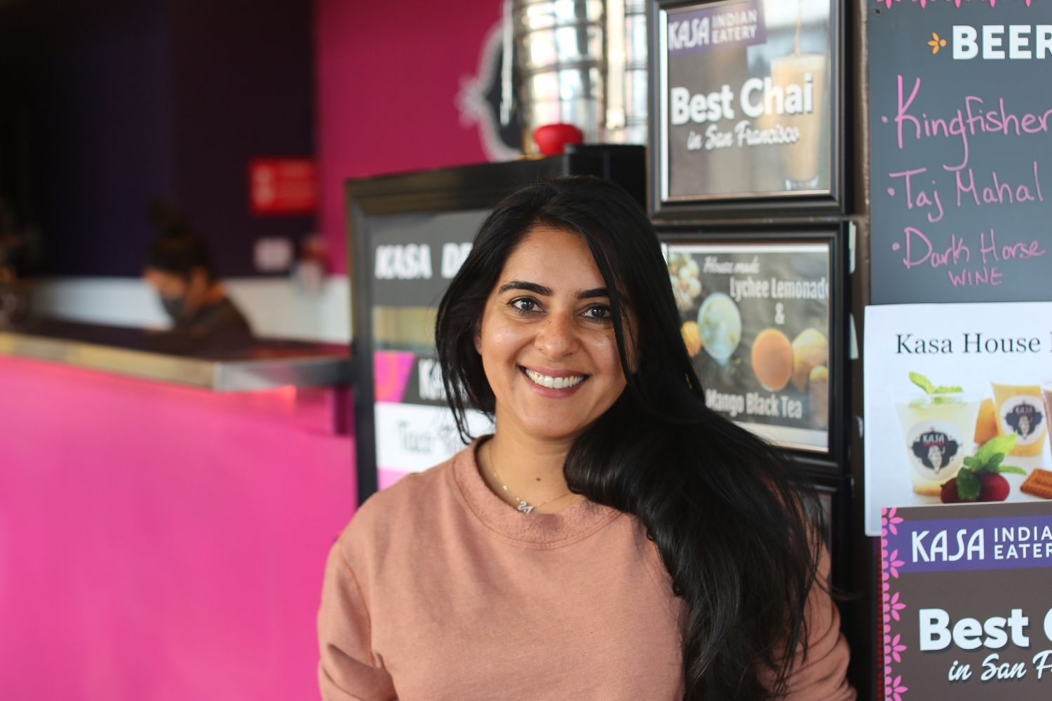 Anamika Khanna owner and chef of Kasa Indian Eatery